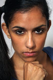 Beautiful Young Multiracial Woman Headshot (5) Royalty Free Stock Photography