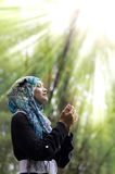 Beautiful young muslimah Stock Photos