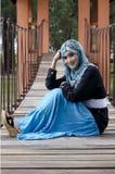 Beautiful young muslimah Stock Image