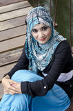 Beautiful young muslimah Royalty Free Stock Image