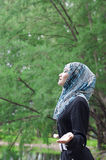 Beautiful young muslimah Stock Photography