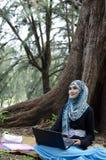 Beautiful young muslimah Stock Photos