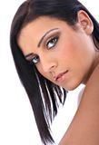 Beautiful Young Native American Female Model Portr Royalty Free Stock Photography