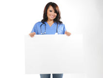 Beautiful young nurse Royalty Free Stock Photo