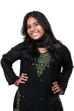 Beautiful young Pakistani girl. Royalty Free Stock Photography