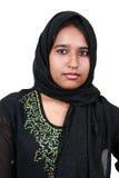 Beautiful young Pakistani girl. Royalty Free Stock Photo
