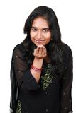 Beautiful young Pakistani girl. Royalty Free Stock Images