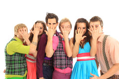Beautiful young people Royalty Free Stock Image