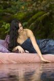 Beautiful Young Princess Awakens Stock Photography