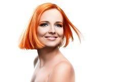 Beautiful young redhead woman Royalty Free Stock Photo