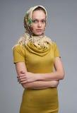 Beautiful young Russian girl Royalty Free Stock Photo