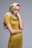 Beautiful young Russian girl Royalty Free Stock Photos