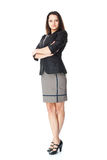 Beautiful young smiling businesswoman Royalty Free Stock Photos