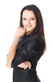 Beautiful young smiling businesswoman Royalty Free Stock Images
