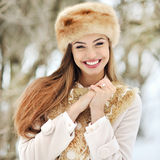 Beautiful young smiling girl portrait Royalty Free Stock Image