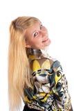 Beautiful young smiling woman Stock Photos