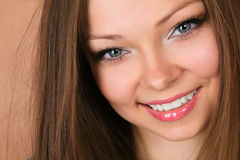 Beautiful young smiling woman Stock Image