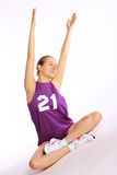 Beautiful young  sport woman Royalty Free Stock Image