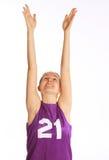 Beautiful young  sport woman Stock Photos