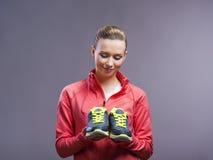 Beautiful young sportswoman Stock Image