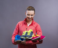 Beautiful young sportswoman Royalty Free Stock Photography