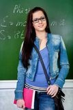 Student girl Stock Image