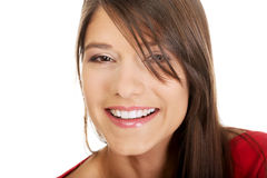 Beautiful young student woman. Royalty Free Stock Image