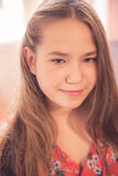Beautiful young teen girl portrait Stock Image