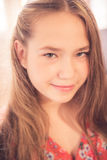 Beautiful young teen girl portrait Royalty Free Stock Photography