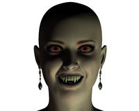 Beautiful young vampire girl Royalty Free Stock Photos