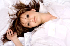 Beautiful Young woman Royalty Free Stock Images