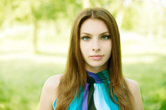 Beautiful young woman Royalty Free Stock Photos