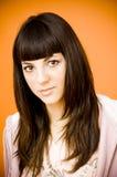Beautiful young woman. stock image