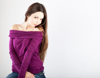 A beautiful young woman Stock Photography