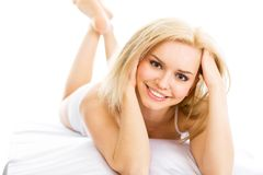 Beautiful young woman Royalty Free Stock Photo