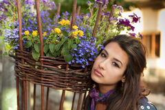 Beautiful young woman Stock Photo