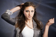 Beautiful young woman Stock Image
