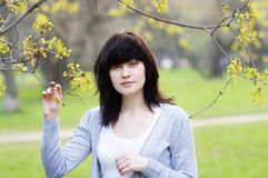 Beautiful young woman Royalty Free Stock Image