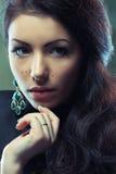 Beautiful young woman stock photos