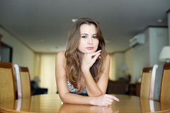 Beautiful young woman. Stock Image