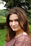 A beautiful young woman royalty free stock images