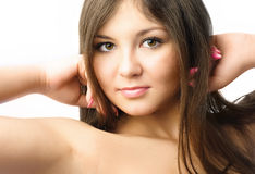 Beautiful young woman Royalty Free Stock Photography