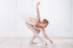 Beautiful Young Woman Ballerina Royalty Free Stock Images
