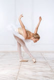 Beautiful Young Woman Ballerina Royalty Free Stock Photography