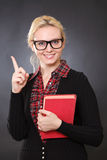 Beautiful young woman with a book Stock Photo