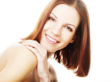 Beautiful young woman with clean skin Royalty Free Stock Images
