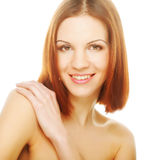 Beautiful young woman with clean skin Stock Photography