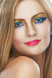 Beautiful young woman close up. Portrait of beautiful young woman close up Stock Images