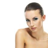 Beautiful young woman close up Royalty Free Stock Photo