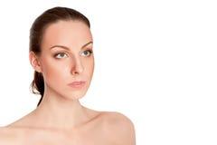 Beautiful young woman close up Royalty Free Stock Image